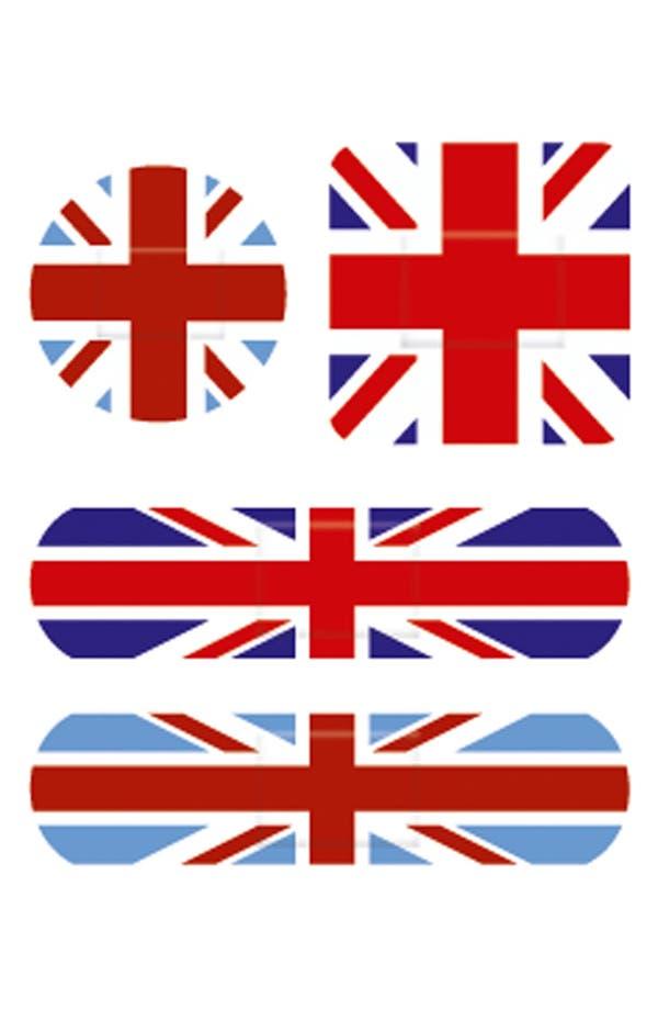 Alternate Image 2  - NPW 'OUCH!™ - Union Jack' Bandages (Juniors)
