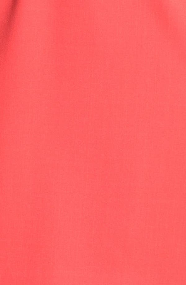 Alternate Image 3  - Ellen Tracy Cap Sleeve Twill Sheath Dress