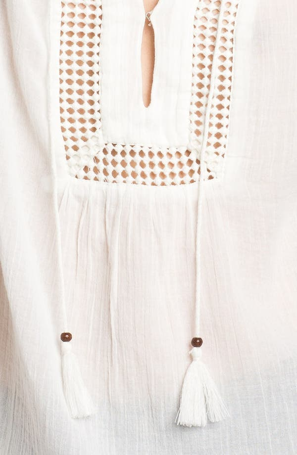 Alternate Image 3  - Soft Joie 'Dallis' Crochet Trim Peasant Top