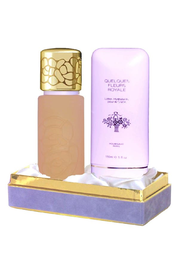 Alternate Image 2  - Houbigant Paris Quelques Fleurs 'Royale' Fragrance Set