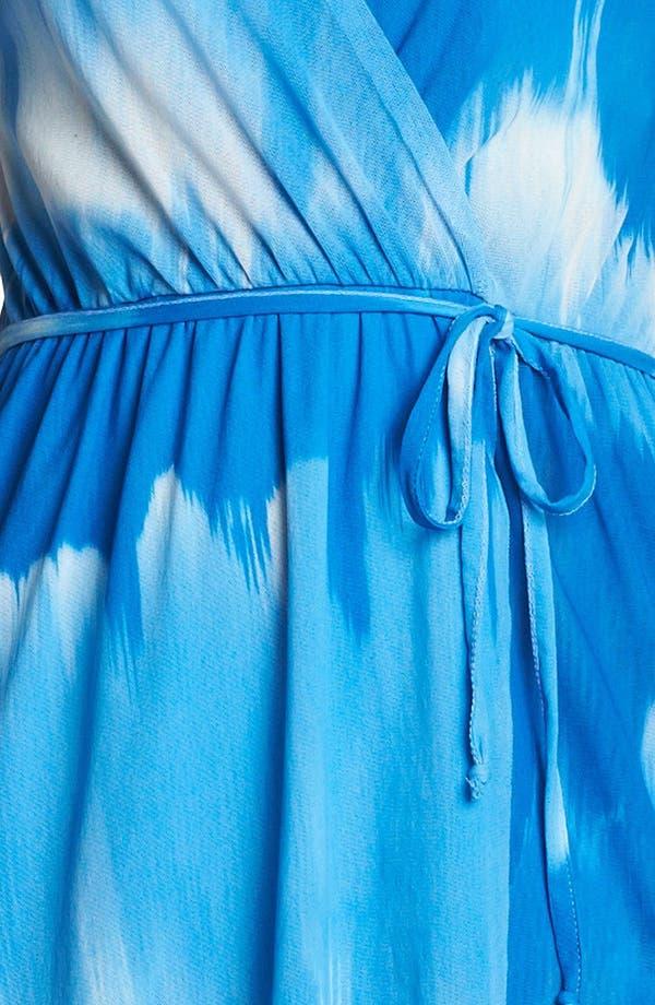 Alternate Image 3  - Sweet Pea by Stacy Frati Print Surplice Dress