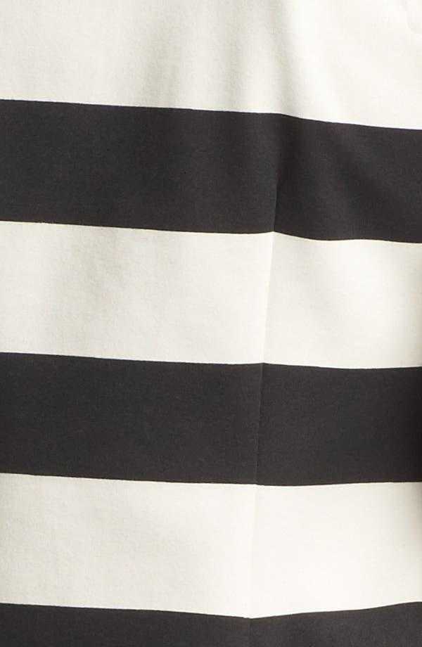 Alternate Image 3  - Kensie Stripe Ponte Jacket
