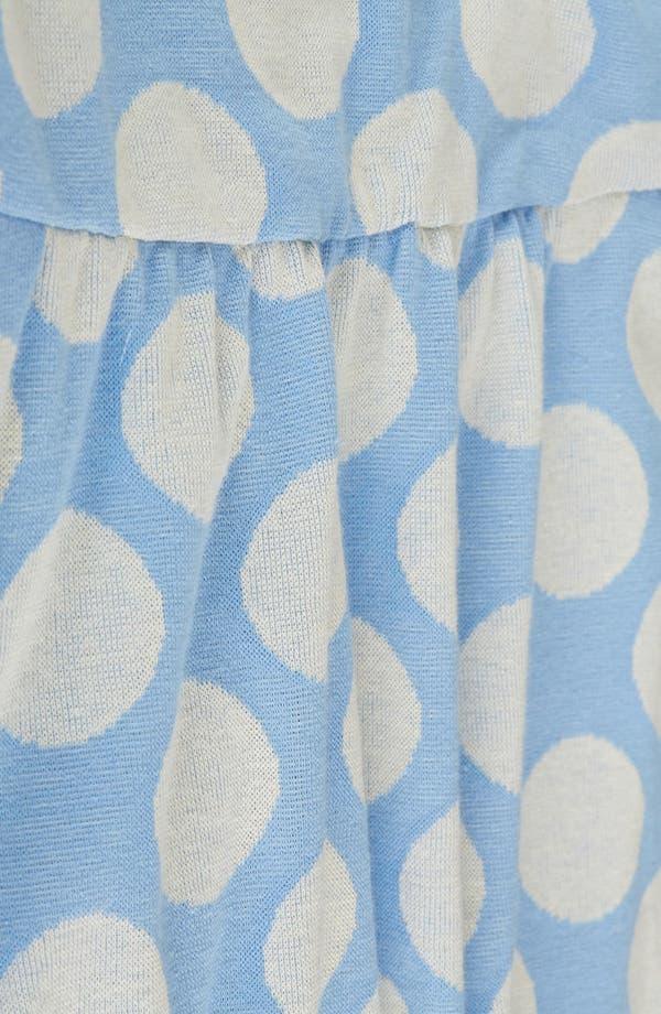 Alternate Image 4  - Topshop Polka Dot Tunic Dress