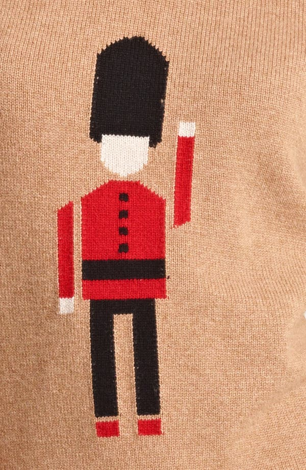 Alternate Image 3  - Burberry Prorsum Soldier Cashmere Sweater