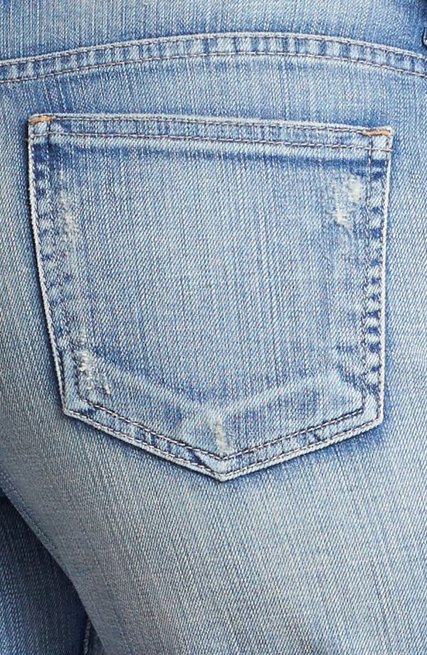 Alternate Image 3  - KUT from the Kloth Boyfriend Denim Shorts