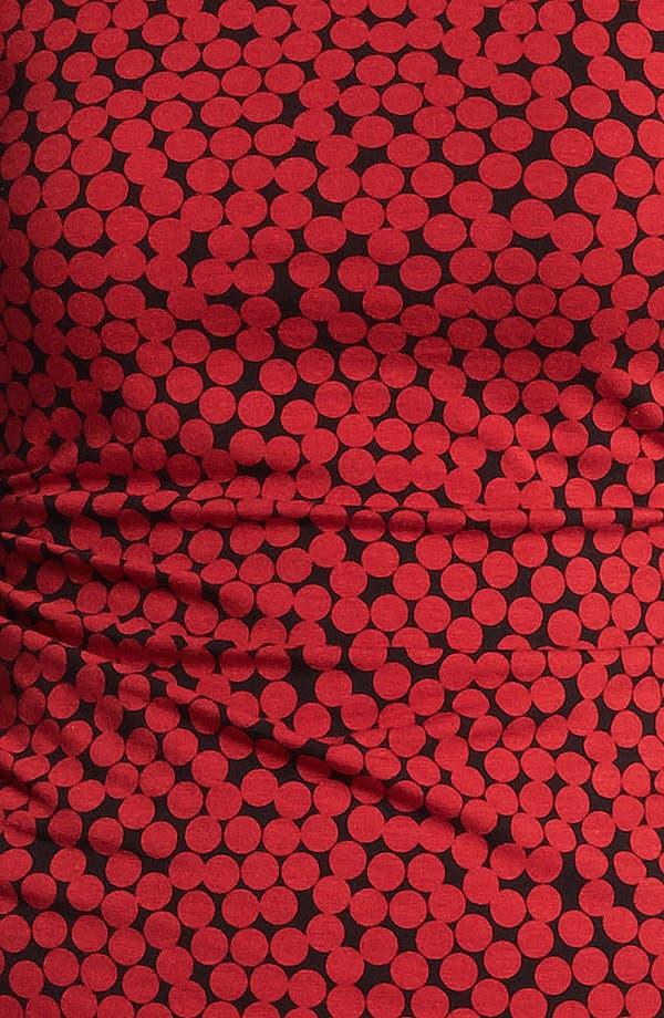 Alternate Image 4  - Halogen® Dot Print Side Ruched Top