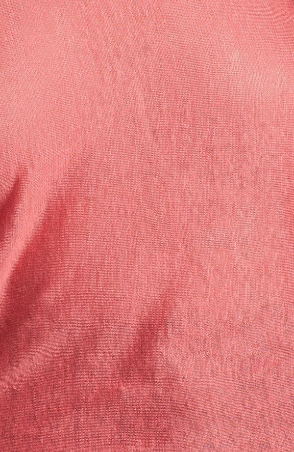 Alternate Image 3  - Eileen Fisher Dolman Sleeve Linen Tunic (Plus Size)