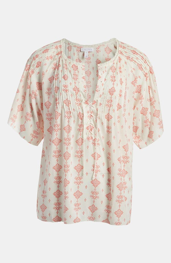 Main Image - Leith 'Islander' Lace-Up Top
