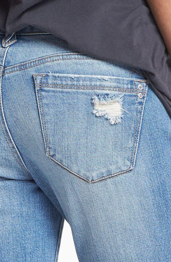 Alternate Image 3  - Jolt Destroyed Boyfriend Skinny Jeans (Medium) (Juniors)