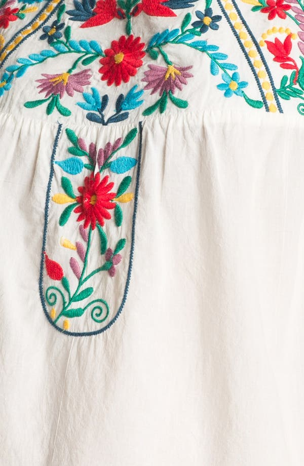Alternate Image 3  - Willow & Clay Embroidered Peasant Tank