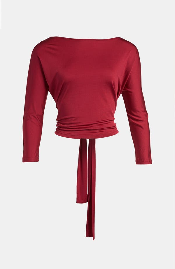 Alternate Image 1 Selected - Tildon Tie Back Dolman Top