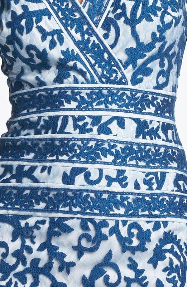 Alternate Image 3  - Tadashi Shoji Embroidered Dress
