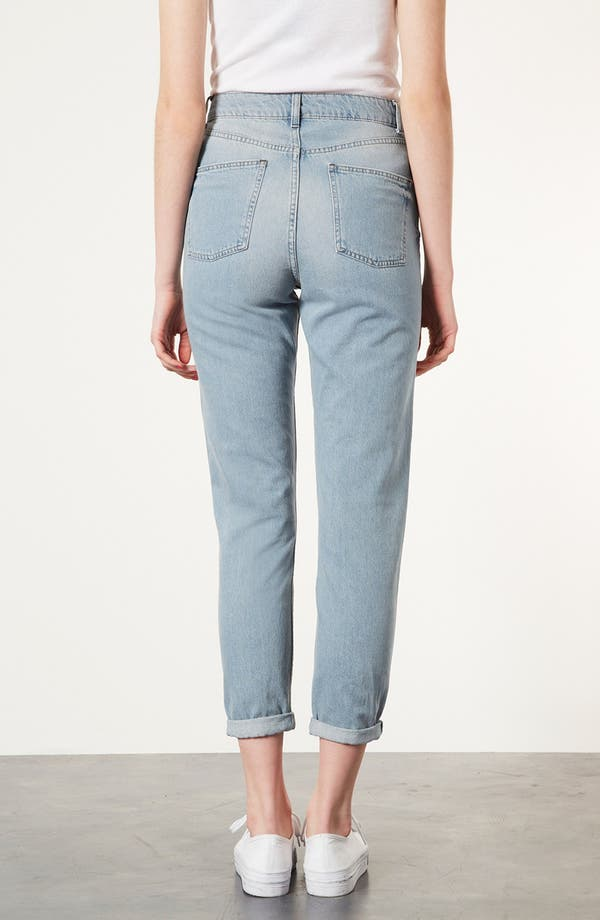 Alternate Image 2  - Topshop Moto 'Kiri' Acid Wash Jeans
