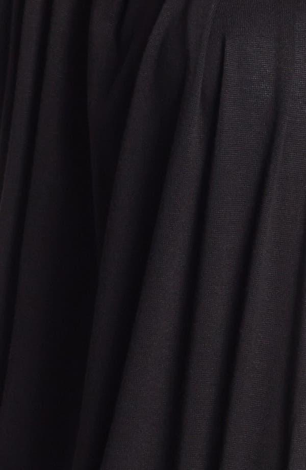 Alternate Image 3  - Three Dots Convertible Draped Cardigan (Plus Size)