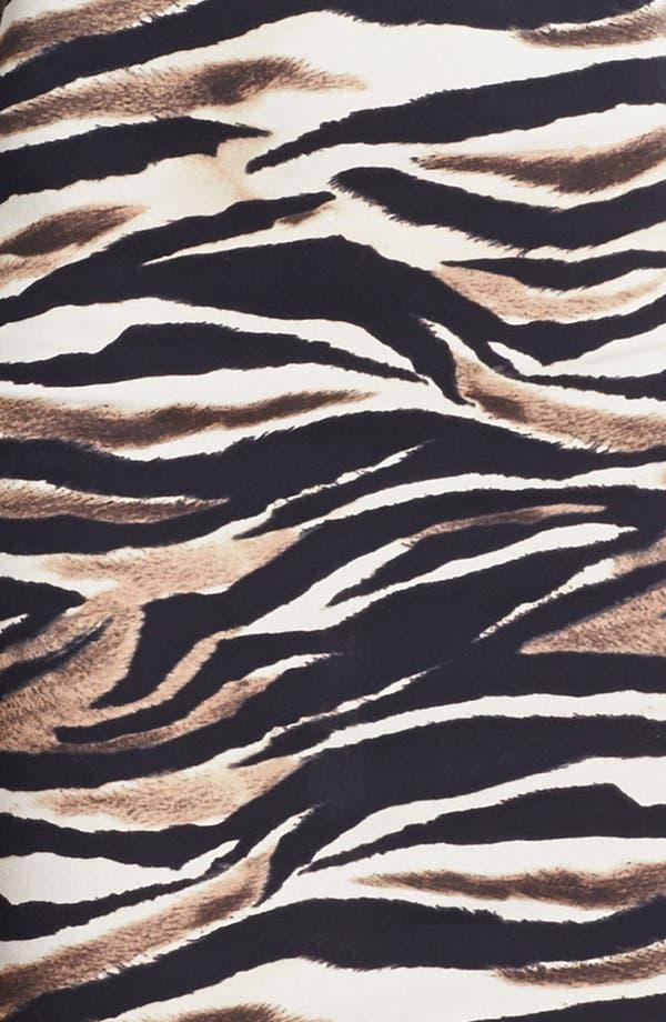 Alternate Image 3  - Just Cavalli Leopard & Zebra Print Jersey Dress