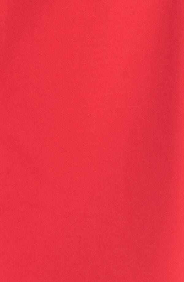 Alternate Image 4  - Calvin Klein Faux Leather Trim Ponte Sheath Dress