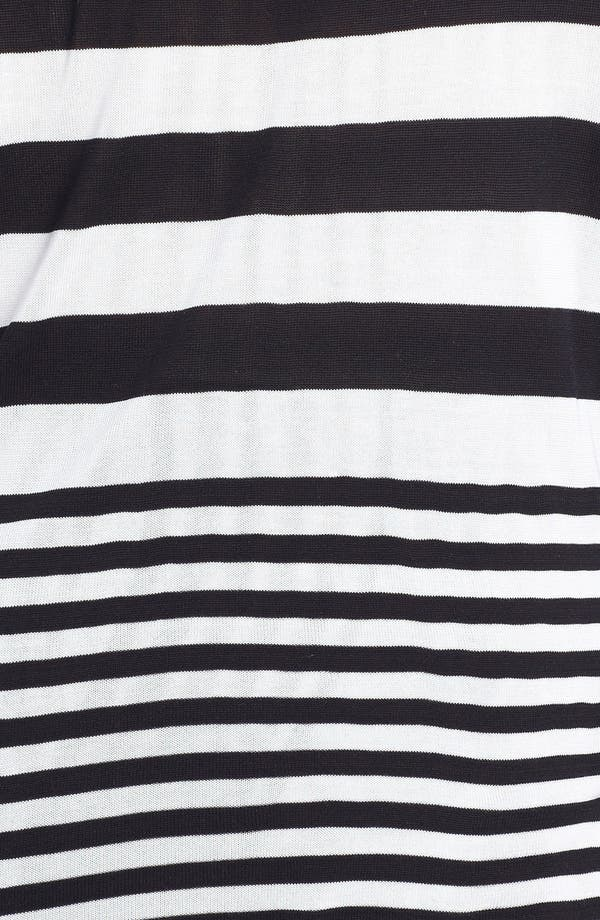 Alternate Image 3  - Vince Camuto Stripe Pullover (Plus Size)