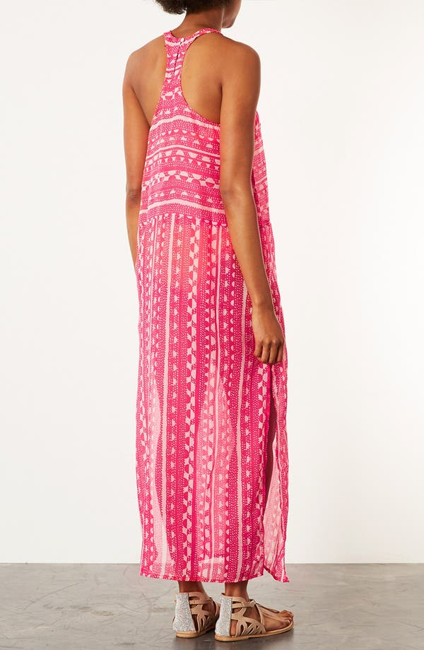 Alternate Image 2  - Topshop 'Sunset' Print Maxi Cover-Up