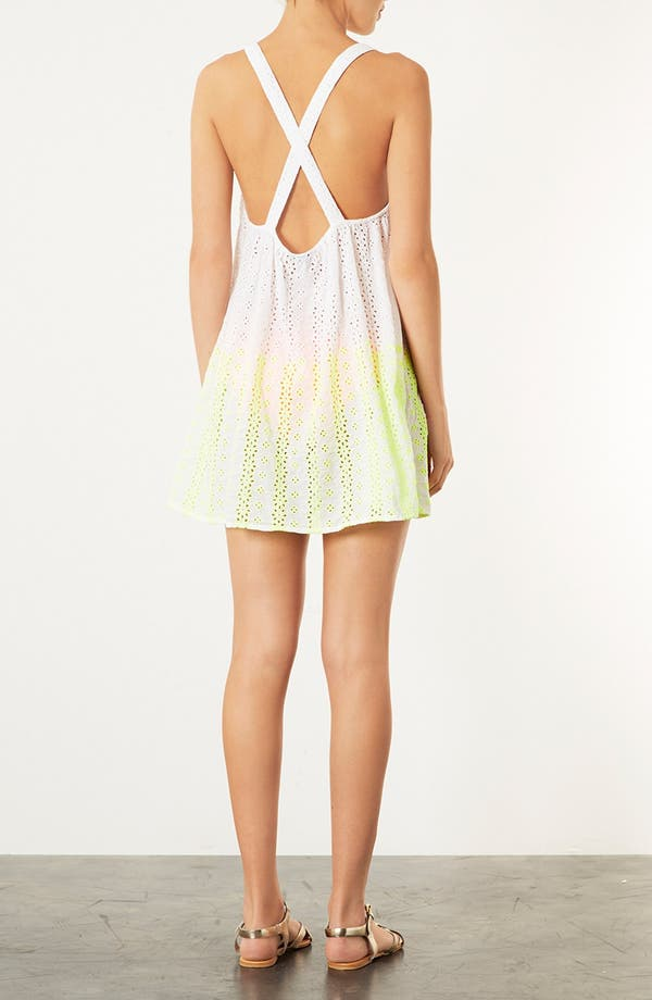 Alternate Image 2  - Topshop Broderie Cover-Up