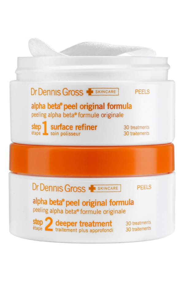 Alternate Image 1 Selected - Dr. Dennis Gross Skincare Alpha Beta® Daily Face Peel