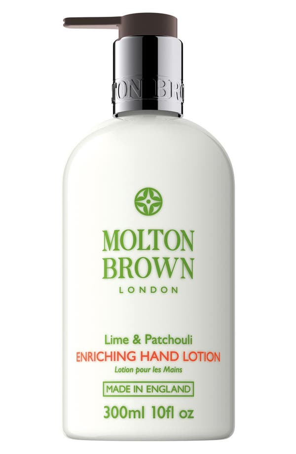 'Lime & Patchouli' Soothing Hand Lotion,                             Main thumbnail 1, color,                             Lime And Patchouli