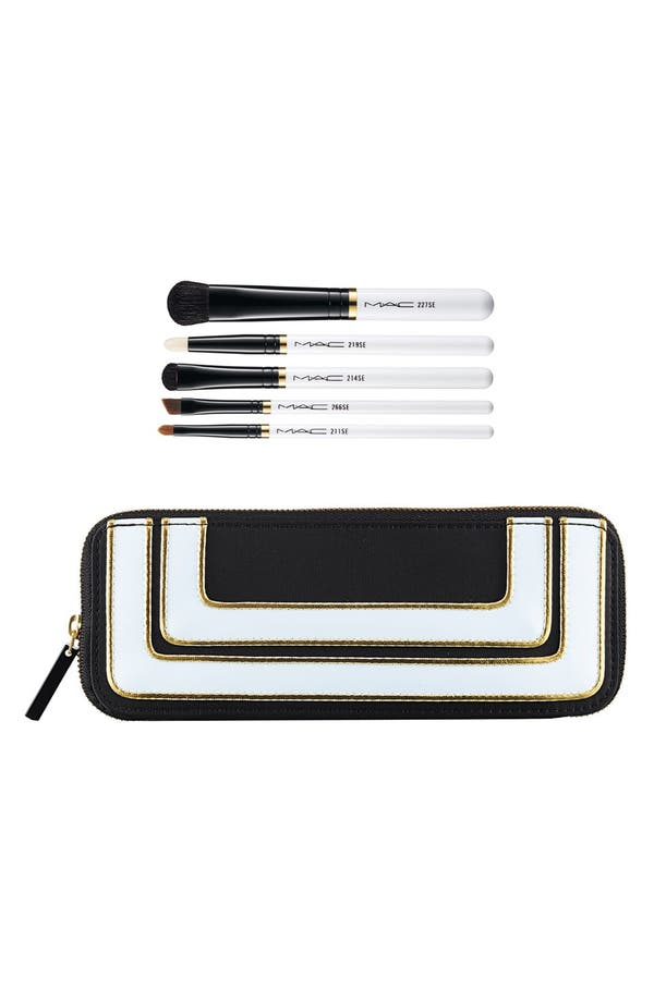 Alternate Image 1 Selected - M·A·C 'Stroke of Midnight - Smokey Eye' Brush Kit (Limited Edition) ($122 Value)