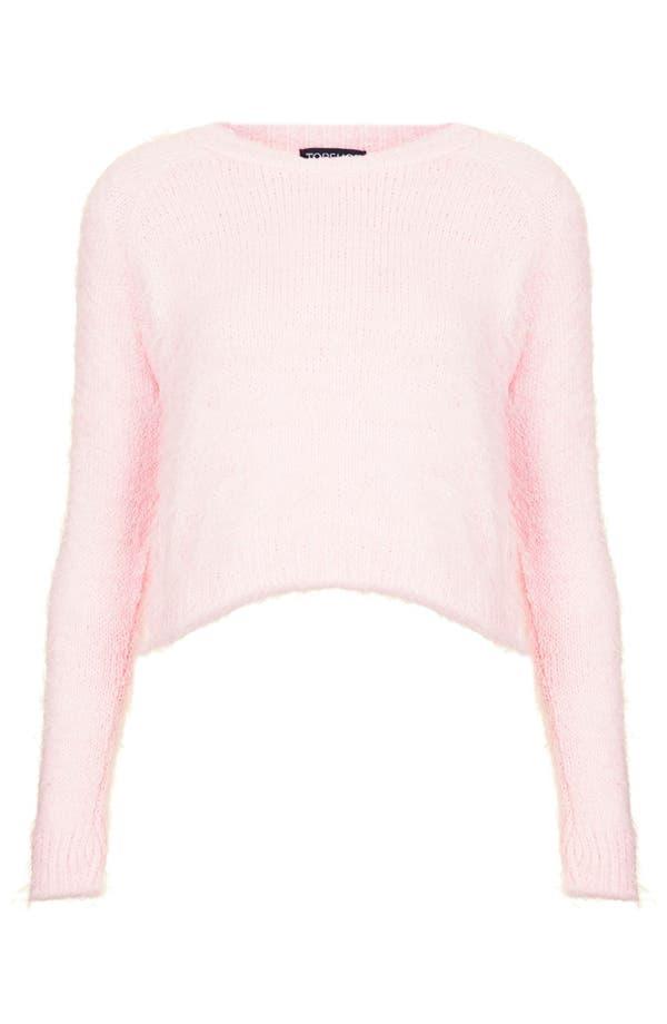 Alternate Image 3  - Topshop Ribbed Knit Crop Sweater