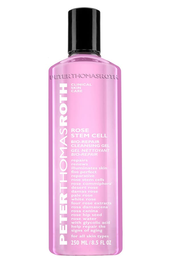 Rose Stem Cell Bio-Repair Cleansing Gel,                             Main thumbnail 1, color,                             No Color