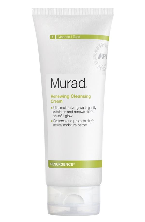 Alternate Image 1 Selected - Murad® Renewing Cleansing Cream
