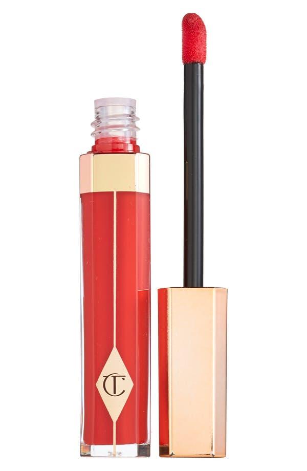Lip Lustre Luxe Color-Lasting Lip Lacquer,                             Main thumbnail 1, color,                             Red Vixen