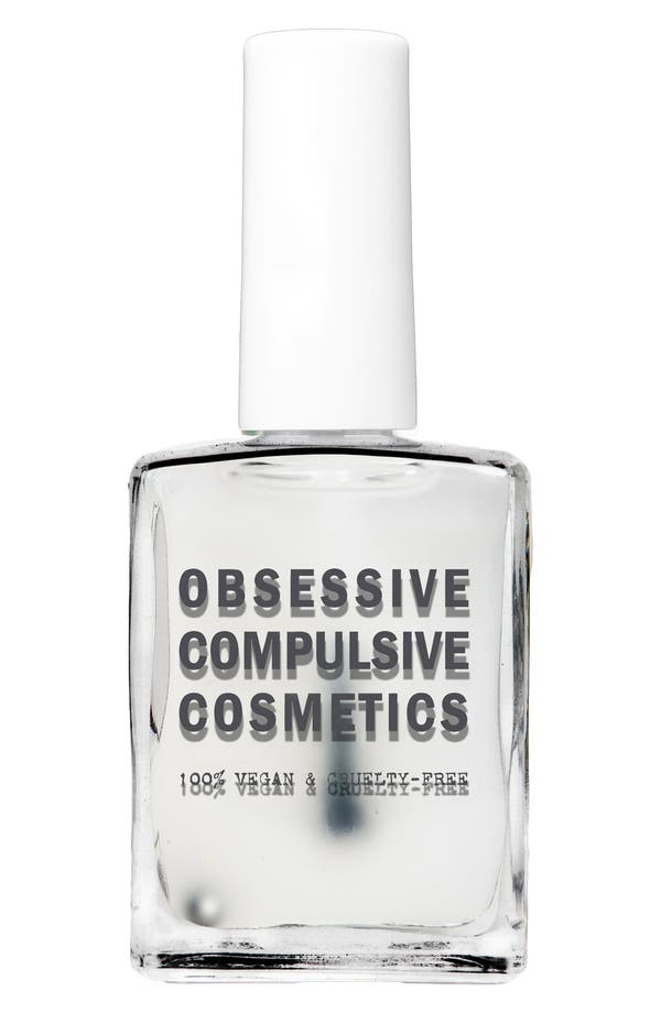 Alternate Image 1 Selected - Obsessive Compulsive Cosmetics 'Flatline' Ultra-Matte Top Coat