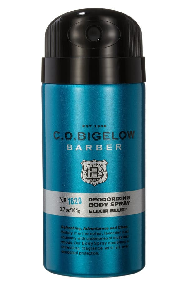 Main Image - C.O. Bigelow® 'Barber - Elixir Blue' Body Spray