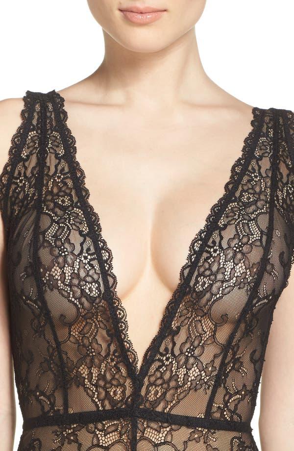 Alternate Image 4  - Chelsea28 Lace Bodysuit