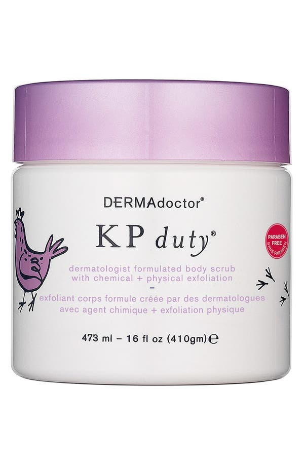 Main Image - DERMAdoctor® 'KP duty®' Dermatologist Formulated Body Scrub with Chemical + Physical Exfoliation