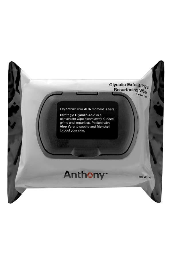 Main Image - Anthony™ Glycolic Exfoliating & Resurfacing Wipes ($18 Value)