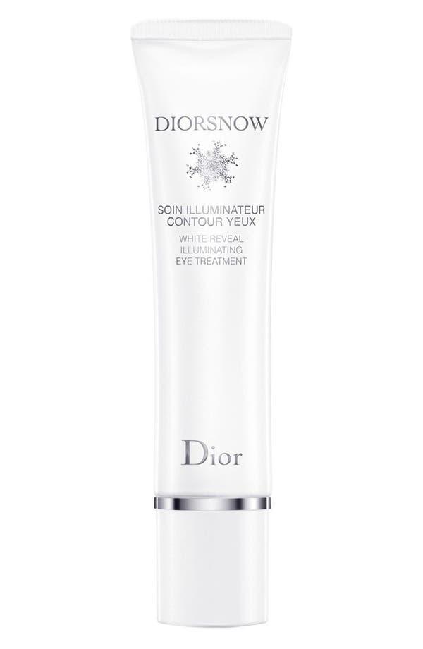 Alternate Image 1 Selected - Dior 'Diorsnow' White Reveal Illuminating Eye Treatment
