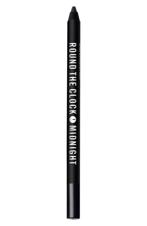 Round the Clock Intense Cream-Glide Eyeliner,                             Main thumbnail 1, color,                             Midnight