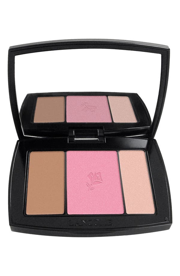 Blush Subtil All-In-One Contour, Blush & Highlighter Palette,                         Main,                         color, Petal Pushing