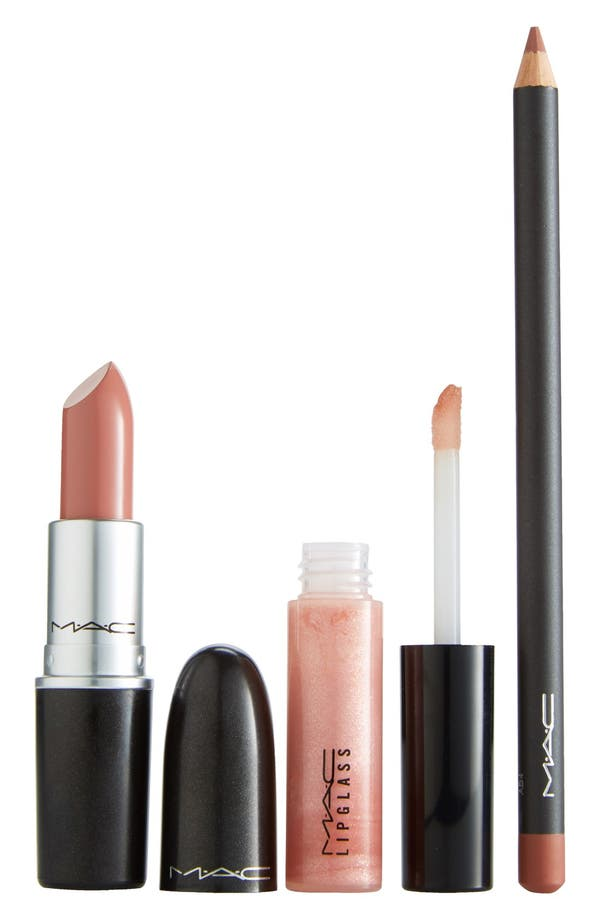Main Image - M·A·C 'Look in a Box - Pretty Natural' Lip Kit ($47 Value)