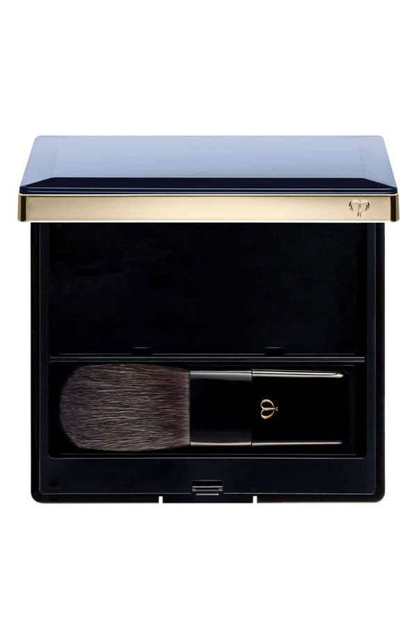 Cheek Color Duo Case & Brush,                         Main,                         color, Black