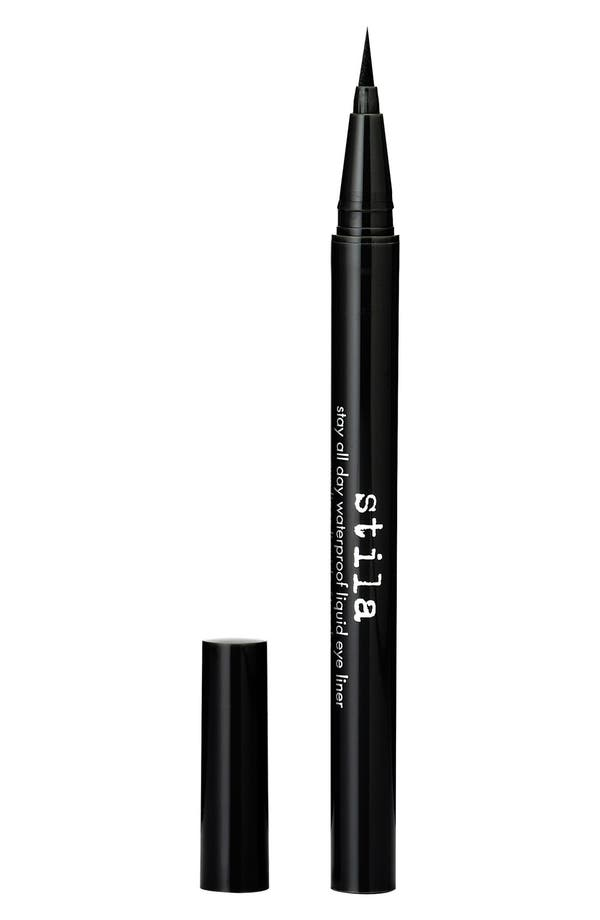 Stay All Day<sup>®</sup> Waterproof Liquid Eyeliner,                             Main thumbnail 1, color,                             Black