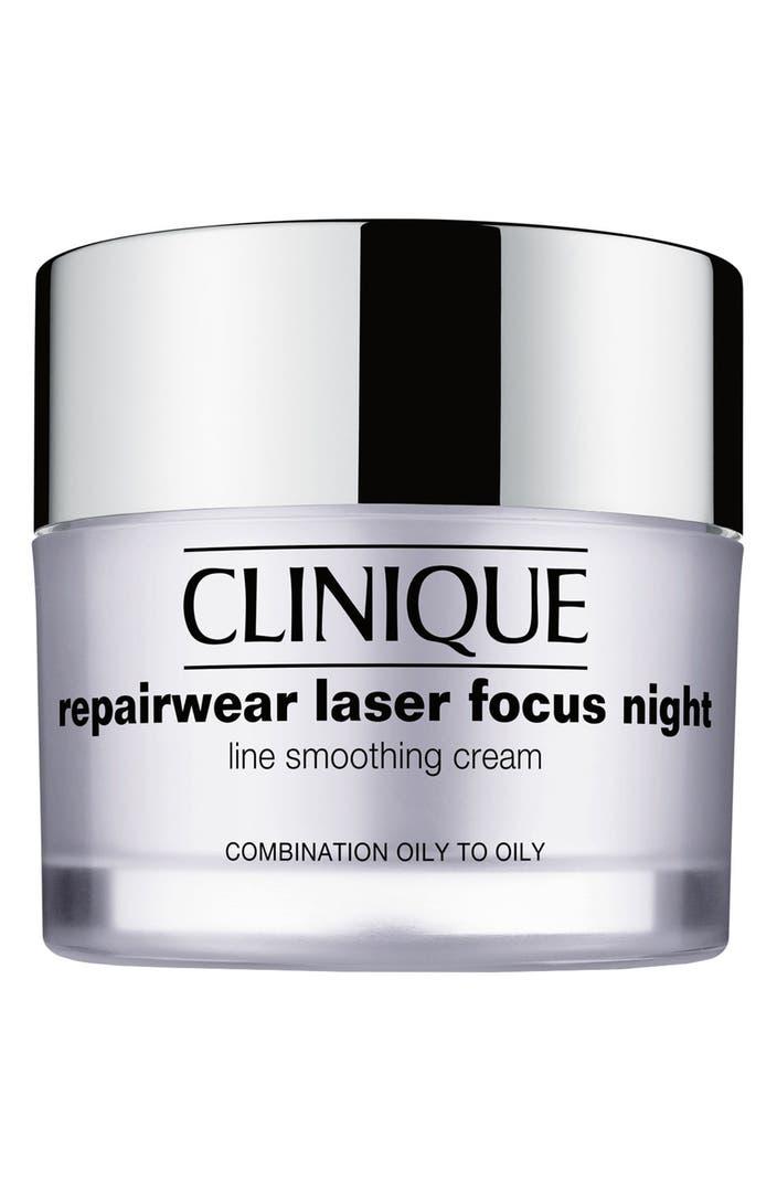 Clinique Repairwear Laser Focus Night Line Smoothing