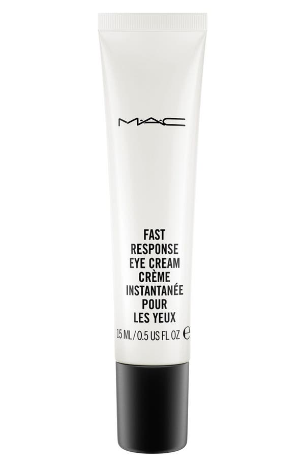 MAC Fast Response Eye Cream,                         Main,                         color, No Color