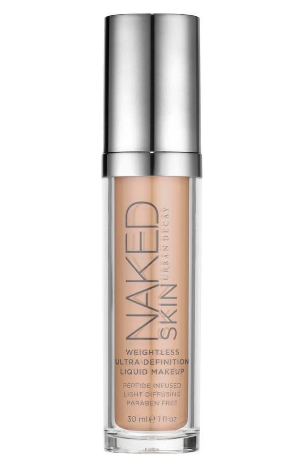 Naked Skin Weightless Ultra Definition Liquid Makeup,                             Main thumbnail 1, color,                             1.5