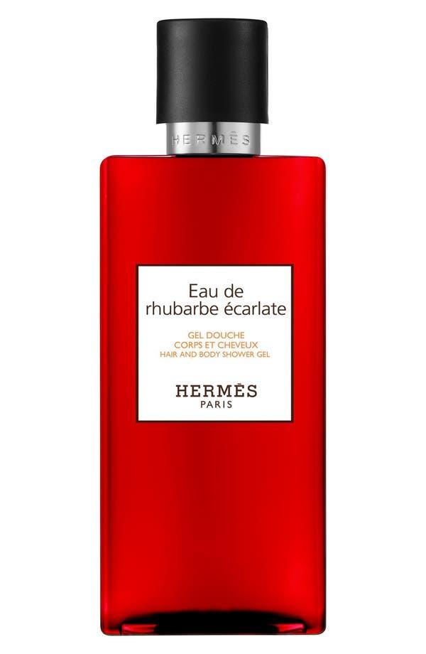 Alternate Image 1 Selected - Hermès Eau de Rhubarbe Écarlate - Perfumed Bath and Shower Gel
