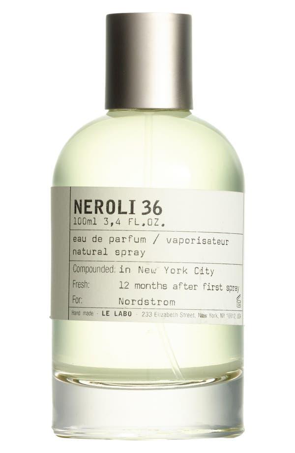 Alternate Image 1 Selected - Le Labo 'Neroli 36' Eau de Parfum