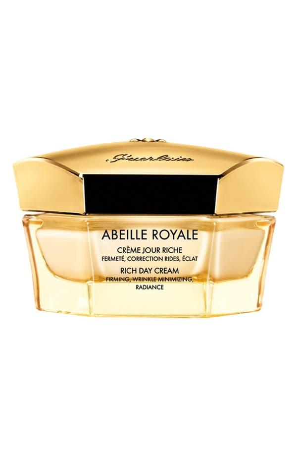 'Abeille Royale' Rich Day Cream,                         Main,                         color, No Color