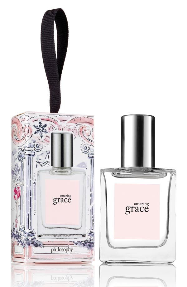 Alternate Image 1 Selected - philosophy 'amazing grace' eau de toilette ornament (Limited Edition)
