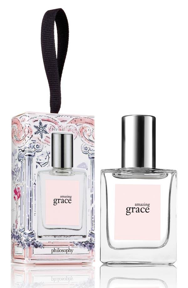 'amazing grace' eau de toilette ornament,                         Main,                         color, No Color