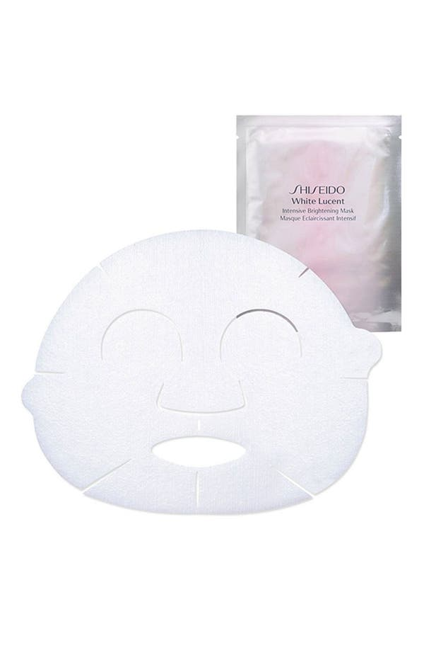Alternate Image 1 Selected - Shiseido 'White Lucent' Intensive Brightening Mask
